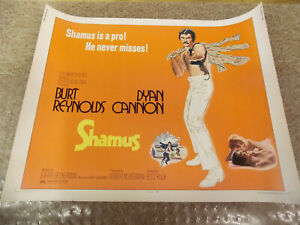 SHAMUS-1972-BURT-REYNOLDS-ORIGINAL-1-2-SHEET-POSTER-22-034-BY28-034