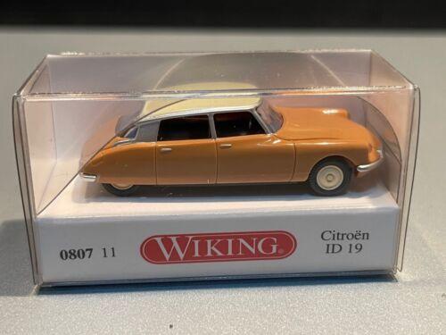 Citroen ID 19 Limousine sedan Oldtimer classic car 080711 Wiking H0 1:87 OVP
