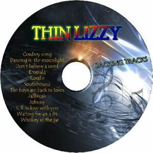 THIN-LIZZY-GUITAR-BACKING-TRACKS-CD-BEST-GREATEST-HITS-MUSIC-PLAY-ALONG-MP3-ROCK