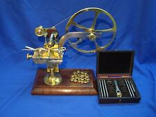 Antique Watchmakers rounding up  gear cutter lathe