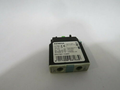 WOW ! Details about  /Siemens 3RH1921-1CA01 Front Side Auxiliary Switch Contact Block 1NC 230V