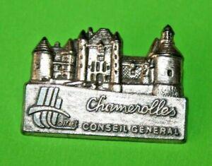 pin-039-s-Lapel-pins-pin-Village-TOURISME-CASTLE-CHATEAU-DE-CHAMEROLLES-LOIRET-CG