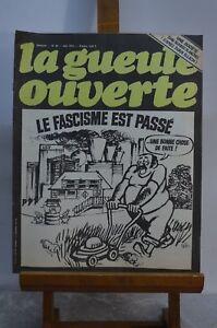 ANCIENNE-REVUE-JOURNAL-LA-GUEULE-OUVERTE-N-20-JUIN-1974-SATYRIQUE-DESSIN-CABU