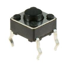 10 X 6x6x4.3 mm momentáneo Mini Push Button Táctil interruptor Pcb montado SPST