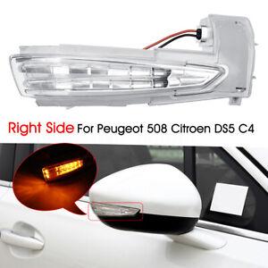 Clignotant-Retroviseur-Turn-Signal-Droit-pour-Citroen-DS5-C4-Peugeot-508-6325J5