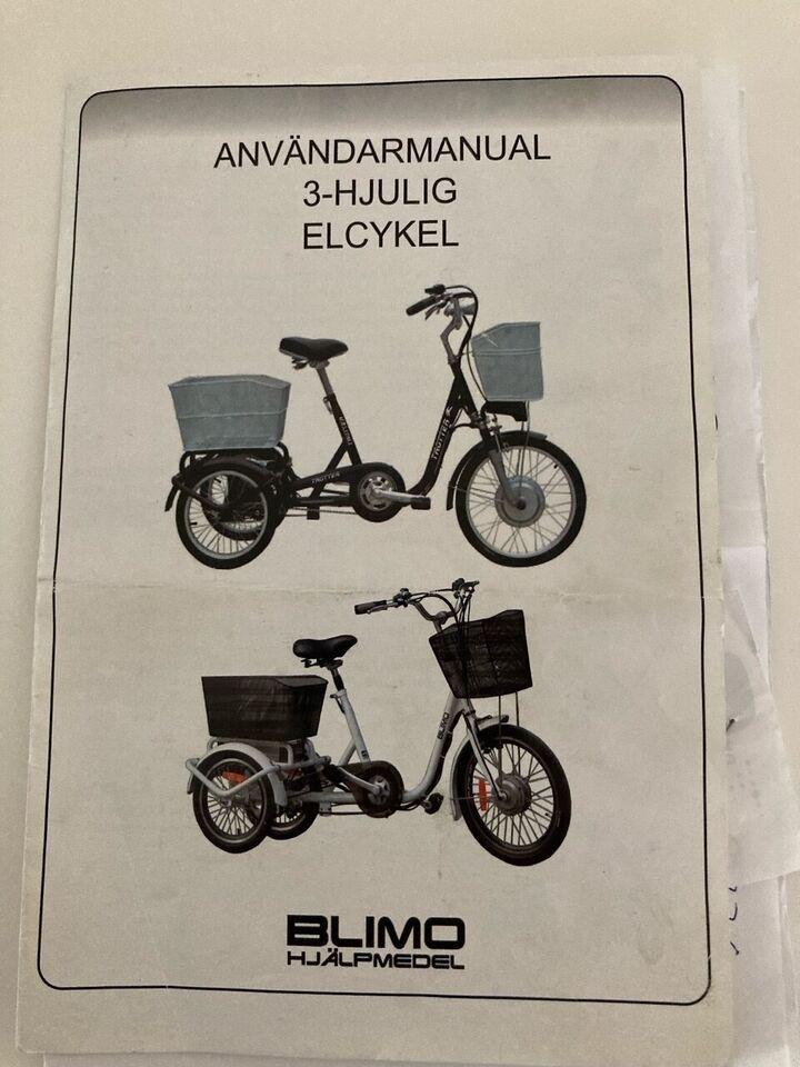Elcykel, EVO Bike Evobike, stelnr: BN 420141