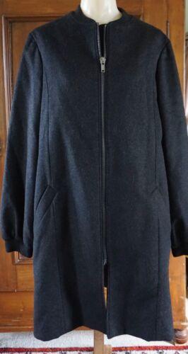Y/Project..A Wool Coat..Opposing Split Back!