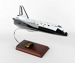 Executive-Series-Display-Models-E83100-Space-Shuttle-Atlantis-1-100-with-Work