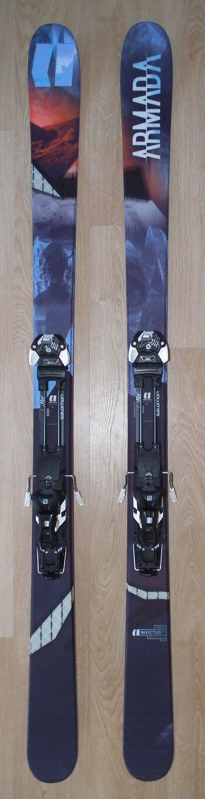 Armada Invictus 99 Ti Skis 187cm & Salomon Guardian MNC 13 L Bindings (2018)