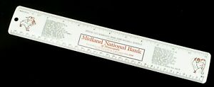 Vintage-1972-MINNESOTA-TWINS-BASEBALL-SCHEDULE-Metal-RULER-Midland-National-Bank