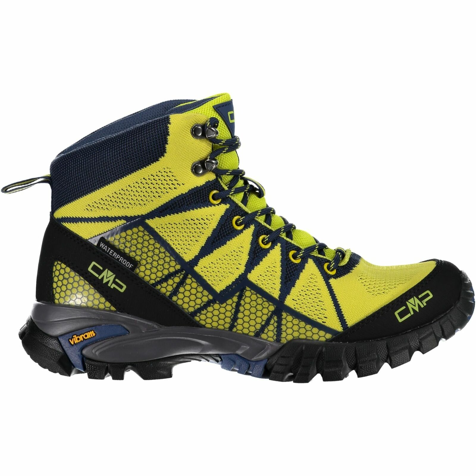 CMP Trekking shoes Outdoor Tauri  mid Wp Light Green Waterproof  cheap and top quality