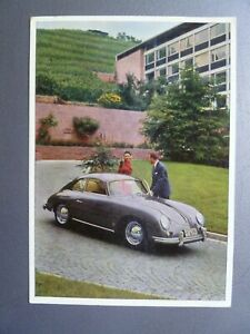 1956-Porsche-356-A-Coupe-Factory-Issued-Postcard-RARE-Awesome-L-K