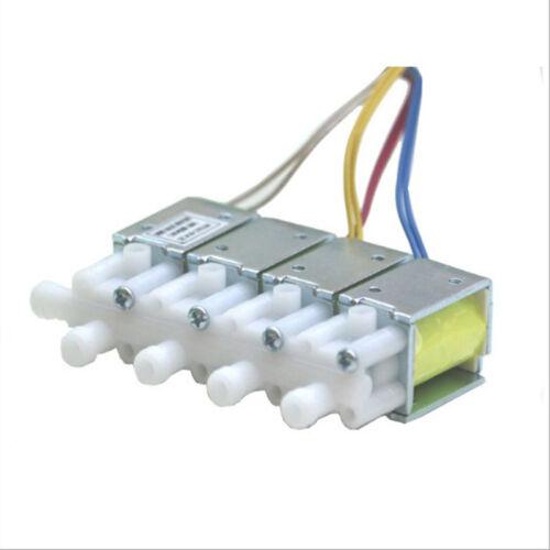 DC 24V 3-Way Micro solenoide válvula eléctrica normalmente cerrado N//c Para Gas Válvula de aire