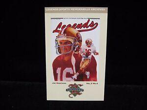 1993-Joe-Montana-49ers-Archives-Legends-Postcard-9