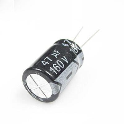 200V 47uF 200Volt 47MFD Electrolytic Capacitor 10mm×20mm
