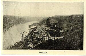 Oberwesel Historique D'accueil Pour 1906-afficher Le Titre D'origine
