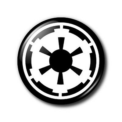 25mm Button Badge - Star Wars Empire Symbol