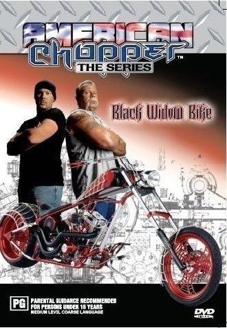 1 of 1 - American Chopper - Black Widow DVD New/Sealed Region 4
