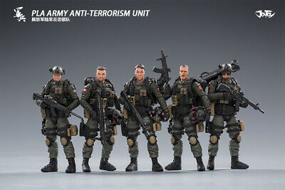 JOYTOY JT0111 1//18 Scale PLA Army Ground Force Mini PVC 10.5cm Action Figure