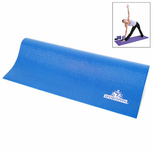 "Lapis Blue SportSmith Sticky Yoga Mat 68/"" x 24/"" x 3//16/"""
