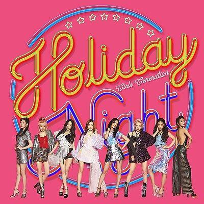 SNSD GIRLS' GENERATION - Holiday Night[All Night ver.](Vol.6)CD+Poster+Free Gift