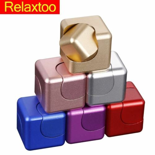 Metal Hand Fidget Spinner Detachable Finger Spinner Cube Gyro Newest Relieve Str