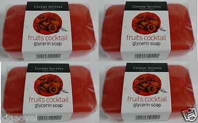 Luxurious GLYCERIN Soap == CHOOSE 3 Scents == Smells Amazing ==  4x100g