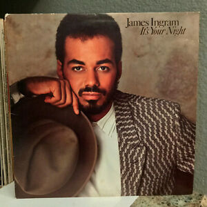 JAMES-INGRAM-It-039-s-Your-Night-Ya-Mo-Be-There-12-034-Vinyl-Record-LP-EX