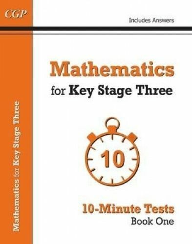 Mathematics for KS3. 10-Minute Tests by CGP Books (Paperback book, 2015)