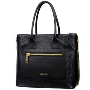 VALENTINO-Damen-Tasche-Shopper-Handtasche-Leder-Schultertasche-Tragetasche-Zippa