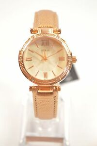Guess-W0838L6-Park-Avenue-Metallic-Rose-Gold-Leather-Watch