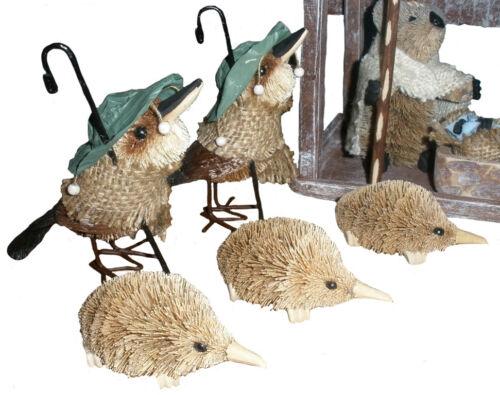 DISPLAY 15-PIECE AUSTRALIAN ANIMALS /& BIRDS CHRISTMAS NATIVITY SCENE SOUVENIR