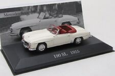 Mercedes Benz 190 SL / W121 ( 1955-1963 ) weiss / IXO 1:43