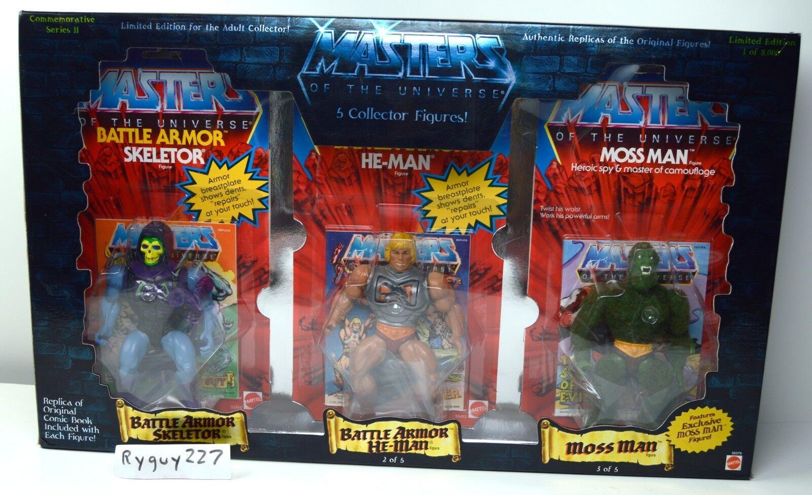 Amos del universo, Conmemorativa 5-Pack, Moss Man, Amos del Universo, y en Caja Sellada, caja, Moc