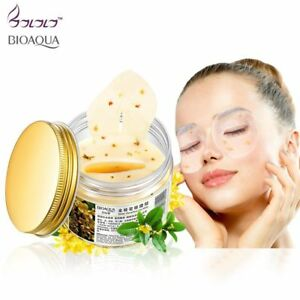 Face-Care-Gold-Osmanthus-Eye-Mask-Collagen-Gel-Whey-Protein-80pcs-Women-Bottle