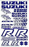 Gsxr1100 Plastic Fairing Tank Side Lower Upper Sticker Decal Gsxr 1100 Graphics