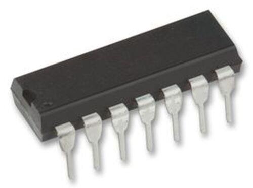 SGS HCF4082BE Logic Gates Dual 4-Input AND 14-Pin Dip New Lot Quantity-10