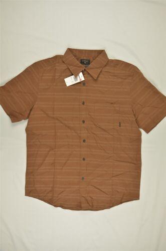NEW MEN/'S Quiksilver Seajam Stripe Short Sleeve Shirt Bears sz M $52 #96-71428