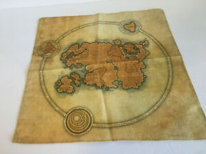 Details about Elder Scrolls Tamriel Cloth Map 14
