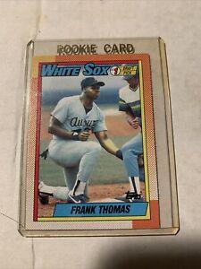 FRANK-THOMAS-1-Draft-Pick-RC-Baseball-1990-Topps-CHICAGO-WHITE-SOX-ROOKIE-CARD