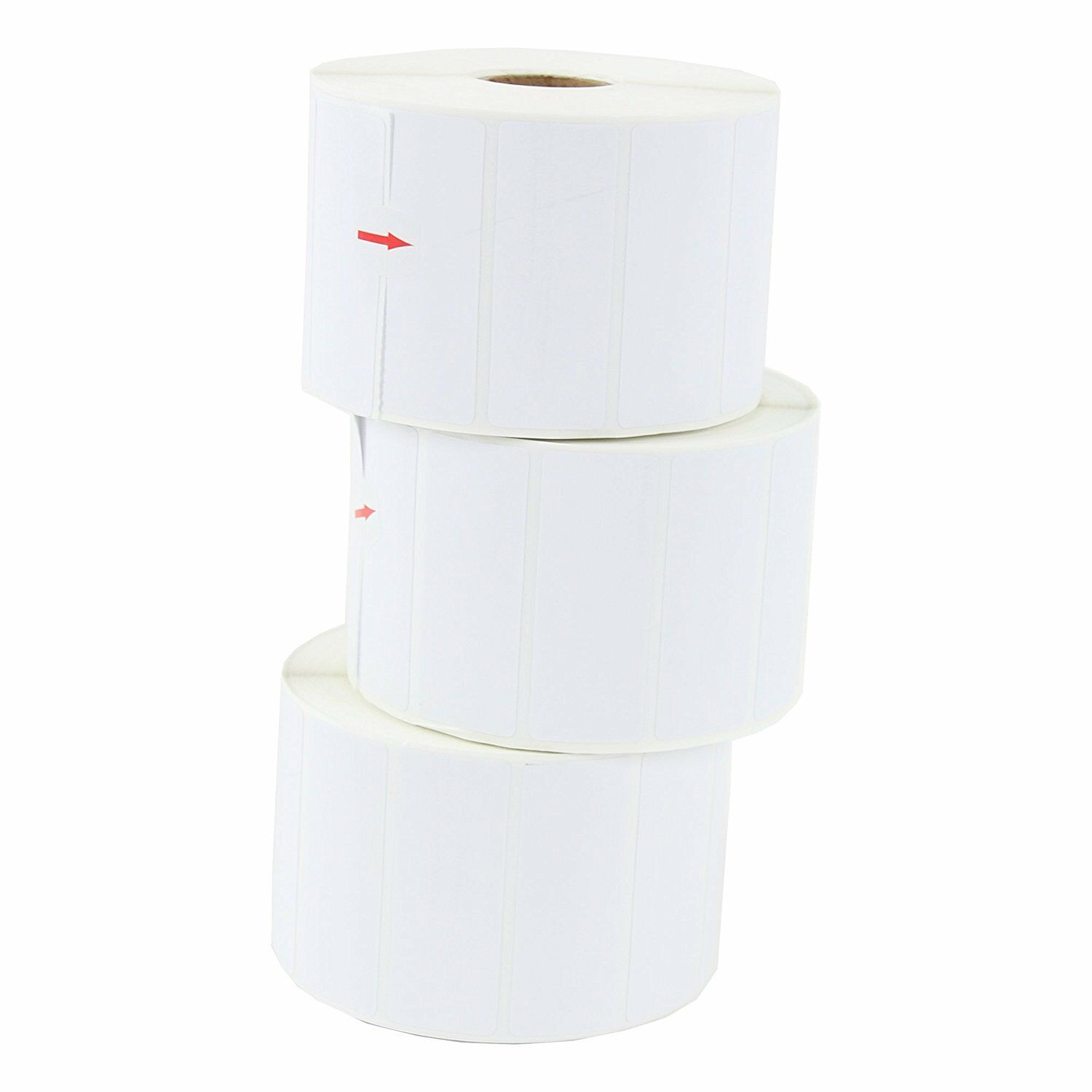 20 Rolls Amazon FBA Direct Thermal Shipping Labels 2.625x1 For Neatoscan & Zebra