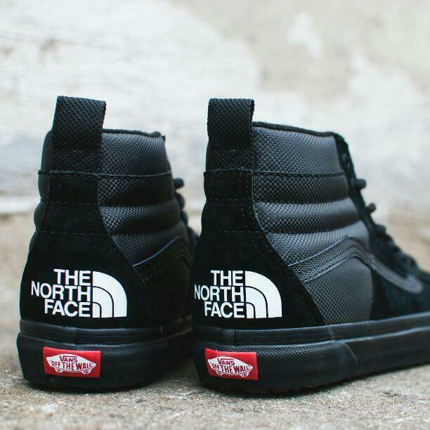 Vans SK8-Hi46 MTE DX The North Face Collaboration model nero rare from japan 7W