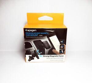 free shipping 8c685 6d53f Details about Spigen Kuel® A201 H12 Hexa-Core Magnetic Air Vent Car Mount  Premium Phone Holder