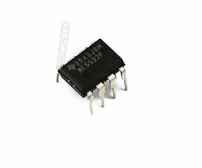 10Pcs NE5532P NE5532 DIP-8 Dual Low Noise Op-Amp PVCABLB$