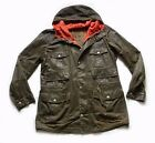 """SUPERB BARBOUR """" SCAFELL """" WAX MOUNTAIN PARKA JACKET - LARGE - VERY RARE £275"""