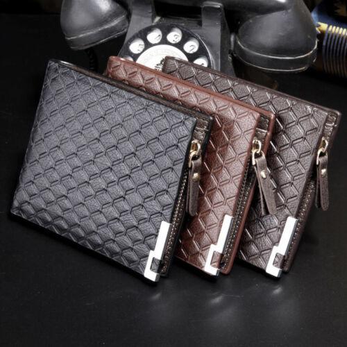 Designer Men Wallet Coin Purse Male Money Pound Purse ID Credit Card Case Holder