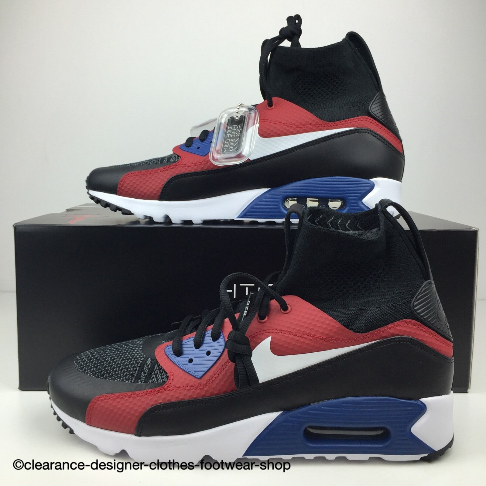 00225b6bd189fa HTM NIKE AIR MAX 90 ULTRA SUPERFLY TRAINERS MENS HTM MAX DAY TINKER SHOES  UK 10