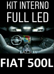 KIT-FULL-LED-INTERNI-FIAT-500L-CONVERSIONE-COMPLETA-CANBUS-NO-ERROR-6000K-OP
