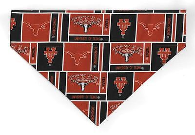 Small University of Texas Longhorns Dog Bandana