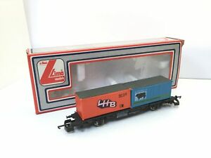 Lima-2852-HO-Gauge-Container-Wagon-Scotch-Beef-LHB-Boxed